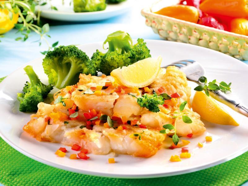 Ryba na ostro z ziołami