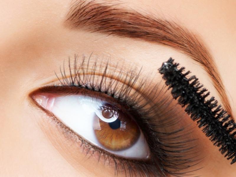 tusz, rzęsy, maskara, oko, makijaż