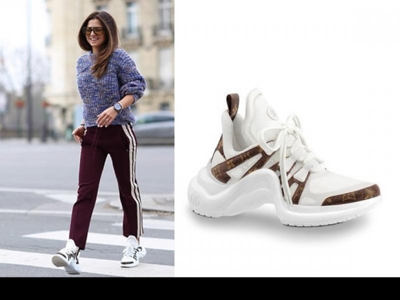 3e8c55e1c2d52 Anna Lewandowska w adidasach Louis Vuitton. Jaka cena? - Newsy ...