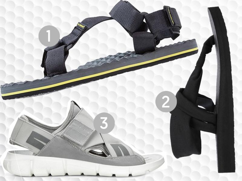 sportowe sandały damskie