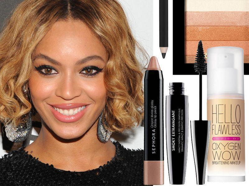Seksowny makijaż w stylu Beyonce