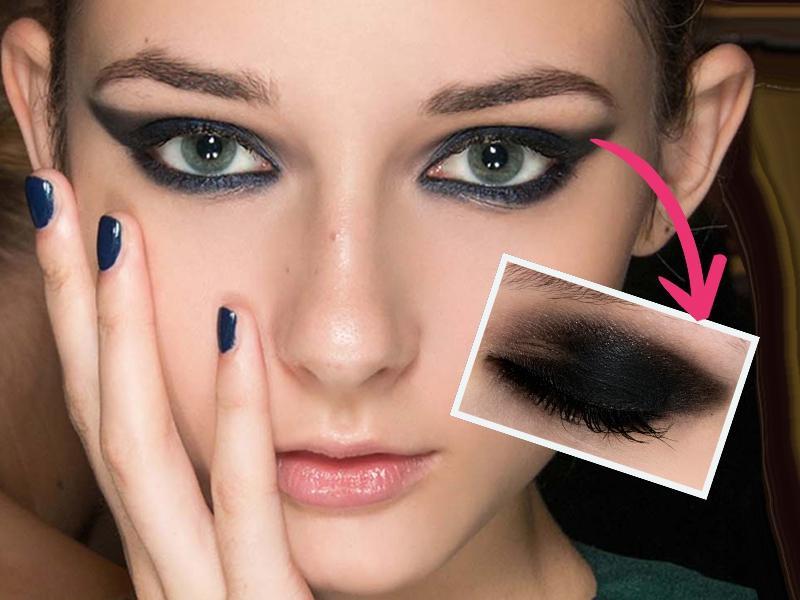 Sexy makijaż prosto z pokazu - krok po kroku