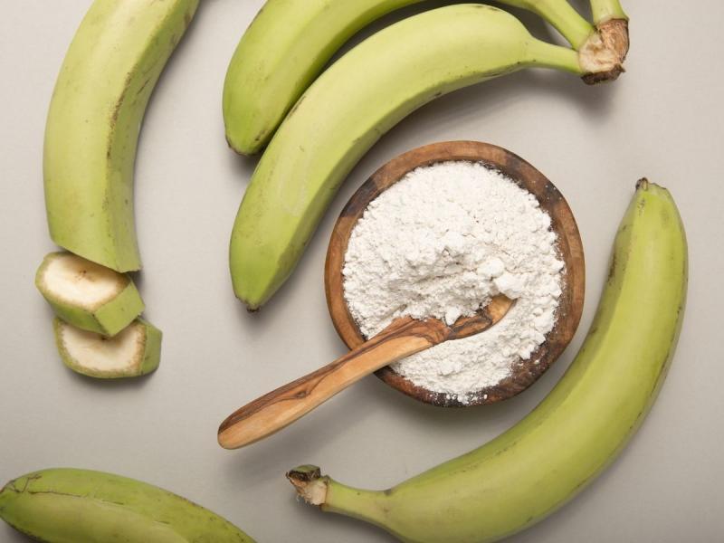 skrobia oporna zielone banany