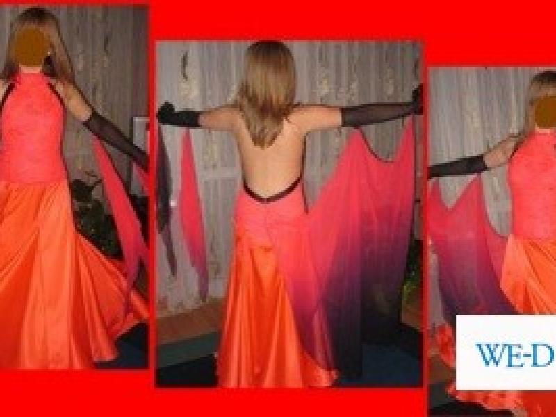 710066dd9a Śliczna sukienka do tańca - standard - klasa E