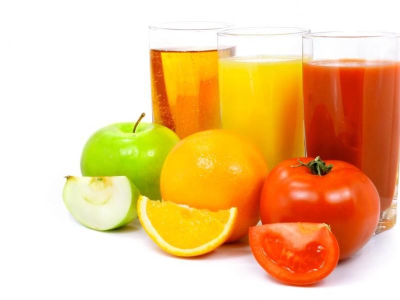 Soki z owoców i warzyw