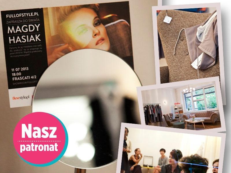Spotkanie z Magdą Hasiak w showroomie Full of Style