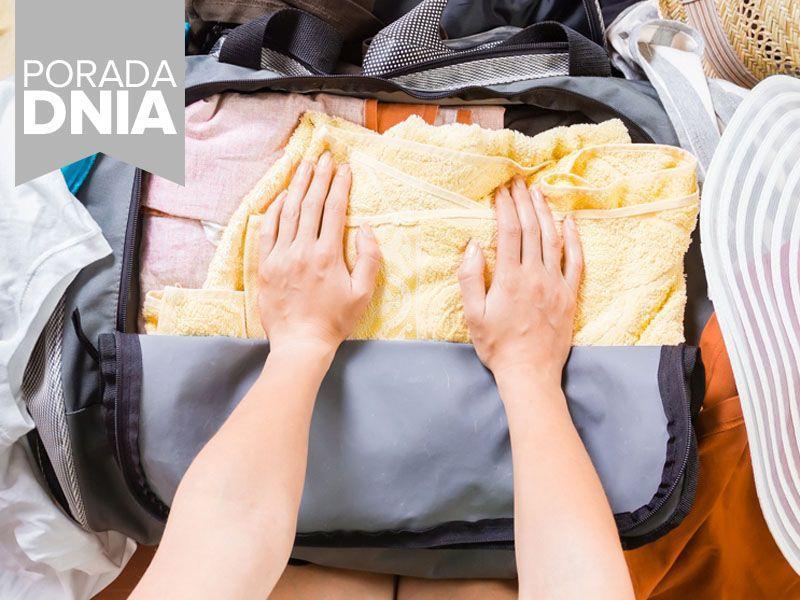 Sprytne sztuczki na spakowanie walizki