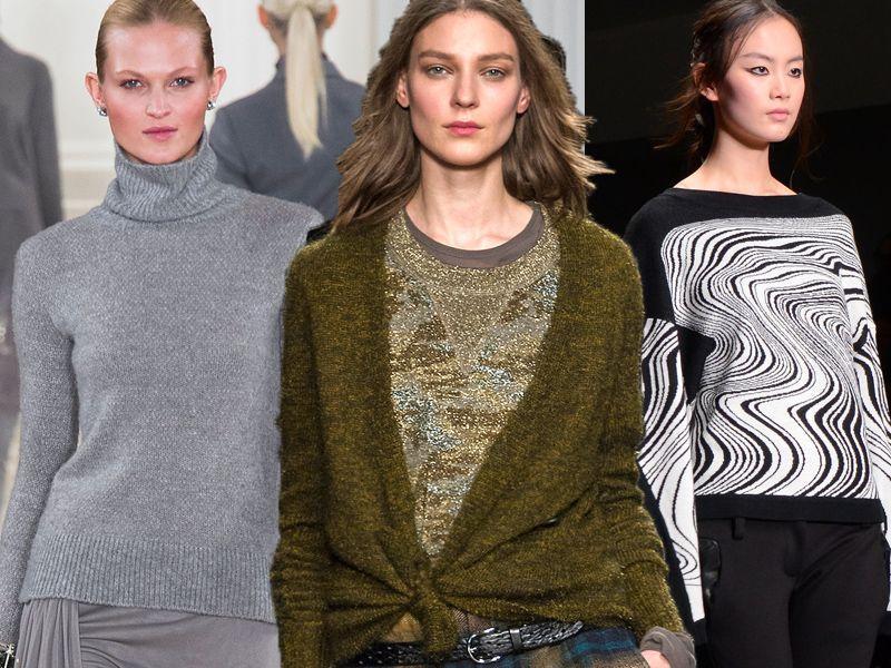 Styl po 40-tce wg stylistów Urody Życia, czyli swetry na 3 sposoby