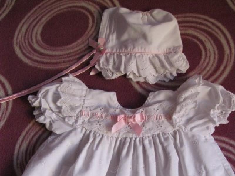 46cc702315 Sukienka na chrzest - Odzież dziecięca - Ogłoszenie - Komis