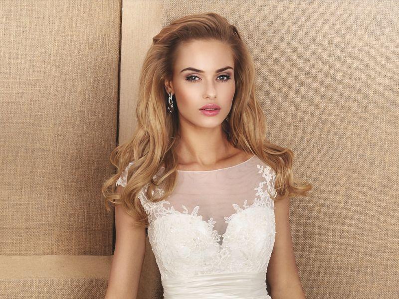 Suknia ślubna Mała 34 Xs Koronkowa Model Nabla Malva Suknie