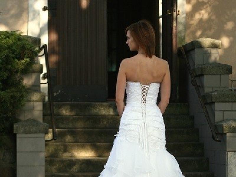 2b6769716056 Suknia Ślubna roz. 36, biała, Syrena firmy Aspera - Suknie ślubne -  Ogłoszenie - Komis, baza ogłoszeń - Polki.pl