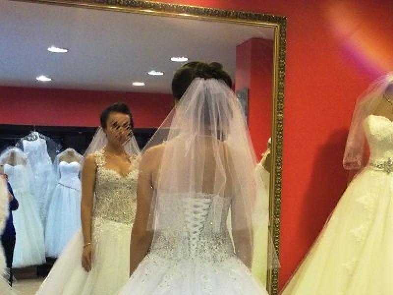 Suknia ślubna Typ Księżniczka Salon Clarisse Siedlce Suknie