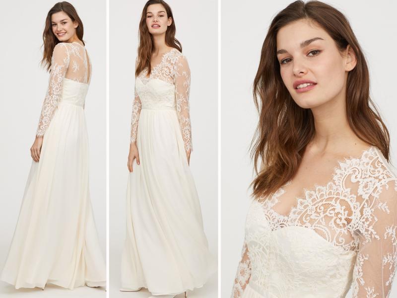 6df6dd9382 H M stworzył sukienkę ślubną w stylu księżnej Kate. Jak wygląda ...