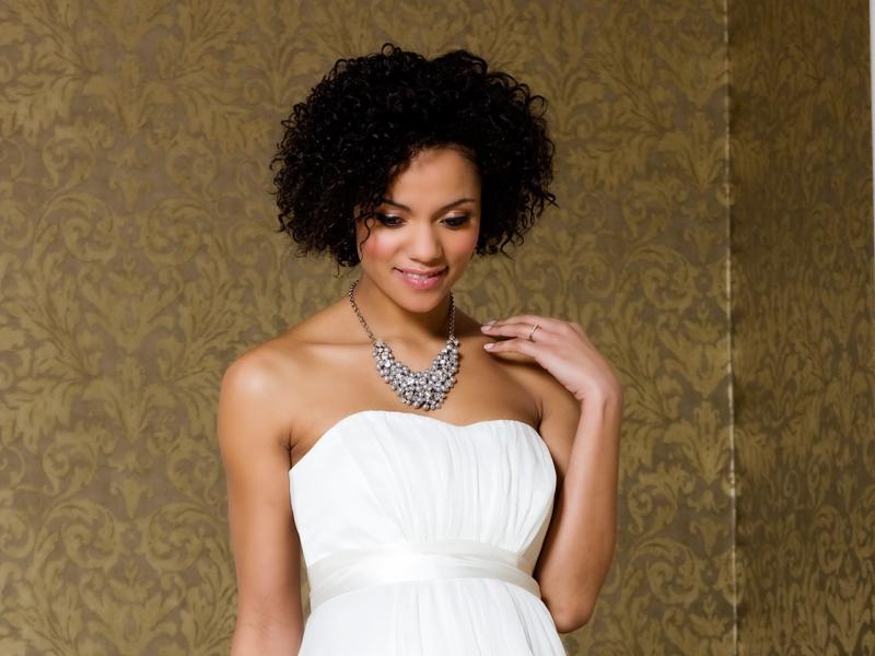c46b003253 biała suknia ślubna Tiffany Rose odcinana pod biustem - Suknie ślubne dla  kobiet w ciąży - Suknie ślubne i dodatki - Zdjęcie 44 - Polki.pl