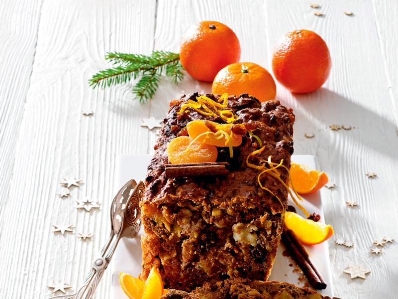 Świąteczny keks marcepanowy w wersji fit