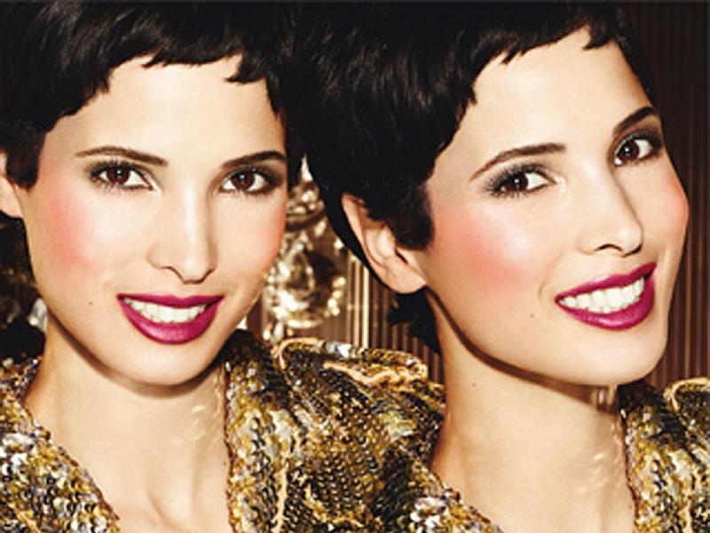 Świąteczny makijaż we wszystkich odcieniach złota
