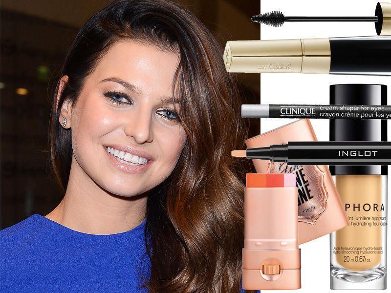 Świetlisty makijaż w stylu Anny Lewandowskiej
