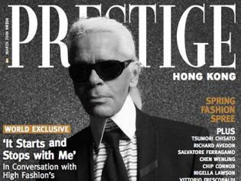 Sylwetki projektantów: Karl Lagerfeld