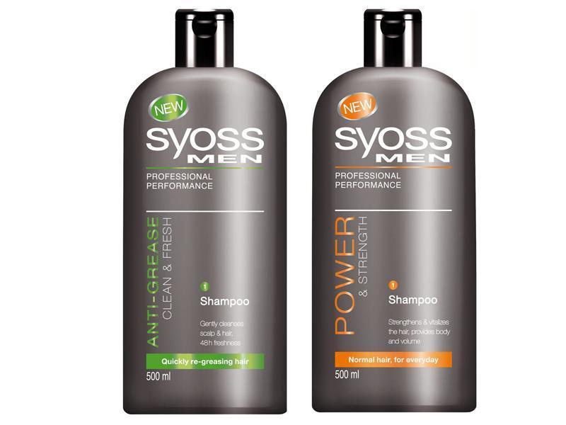 Syoss Men - dwa nowe szampony