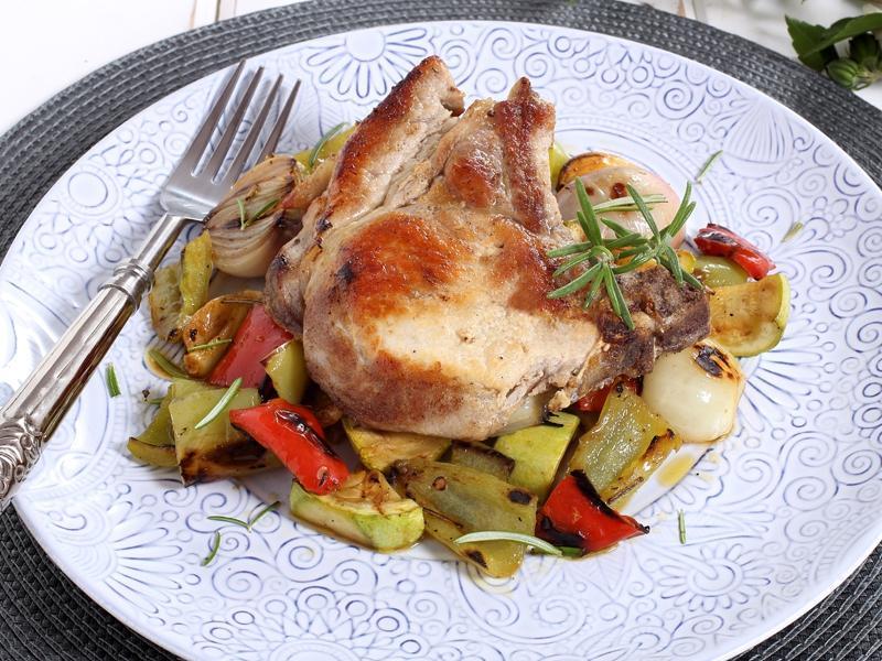 Tanie danie - udka z warzywami