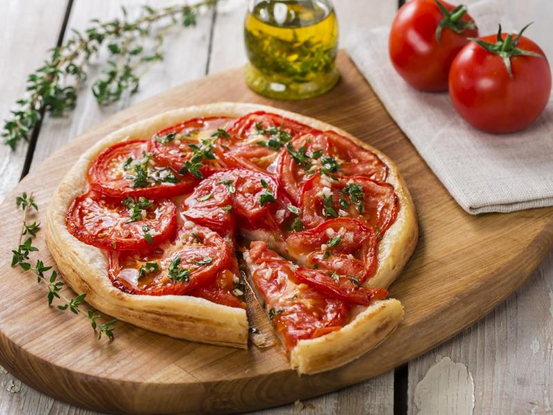 Tarta z suszonymi pomidorami