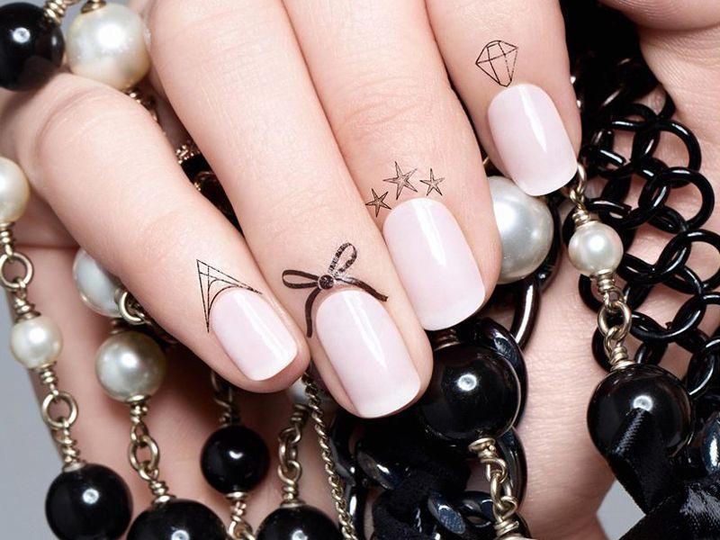 Tatuaże Na Paznokcie Zestawy Kosmetyków Paznokcie Polkipl