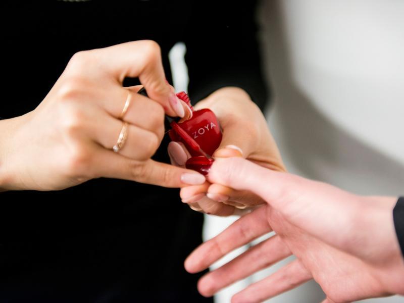 Manekin manicure