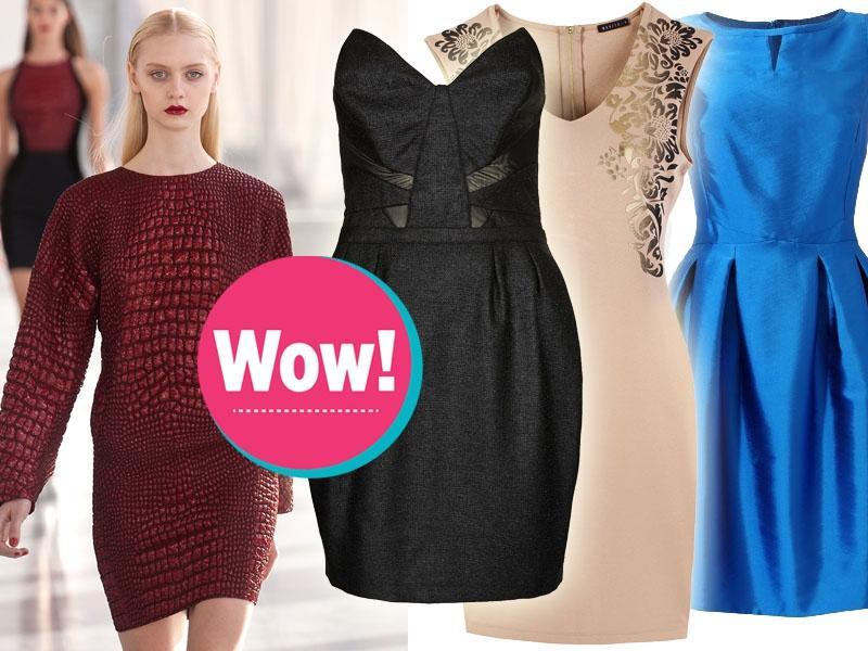 Top 5 na jesień 2013: najmodniejsze kroje sukienek