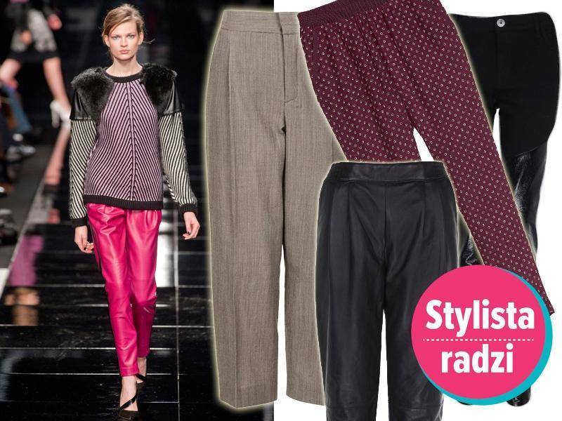 Top 5 na jesień 2013: najmodniejsze modele spodni