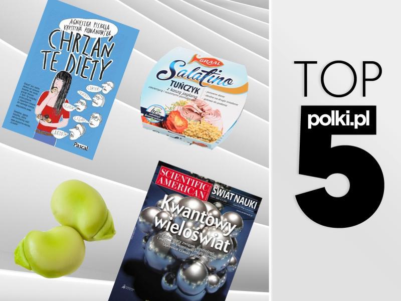 TOP 5 na lipiec 2017 - wybór redaktor działu Dieta