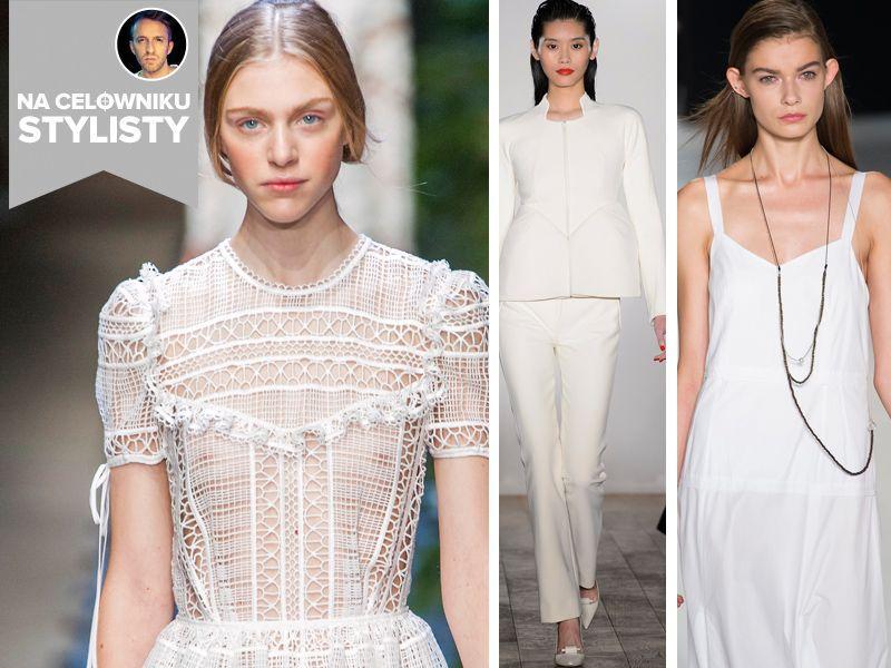 Trendy na celowniku stylisty: blask bieli