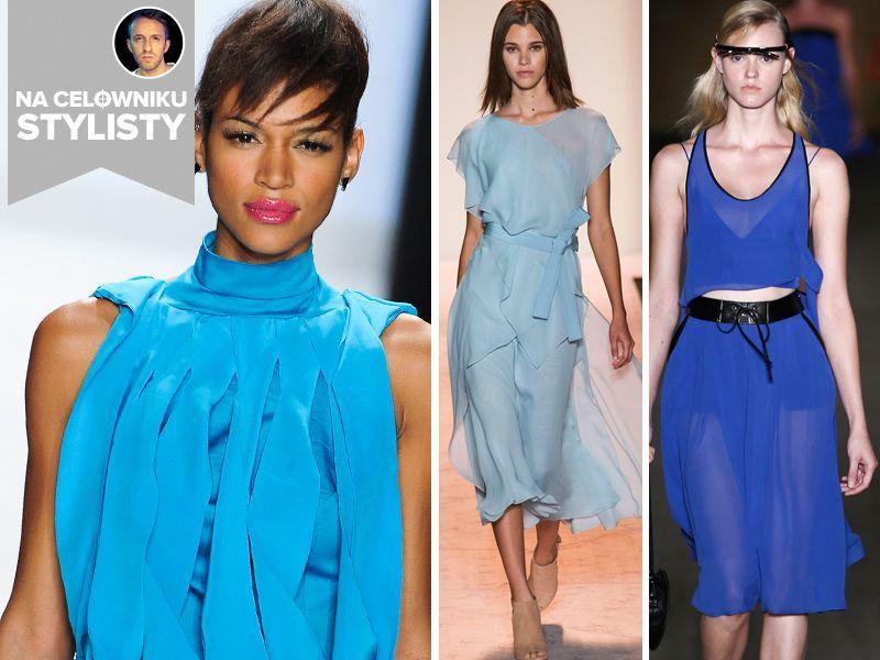 Trendy na celowniku stylisty: wielki błękit