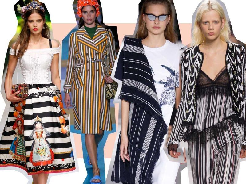 modne wzory wiosna-lato 2017
