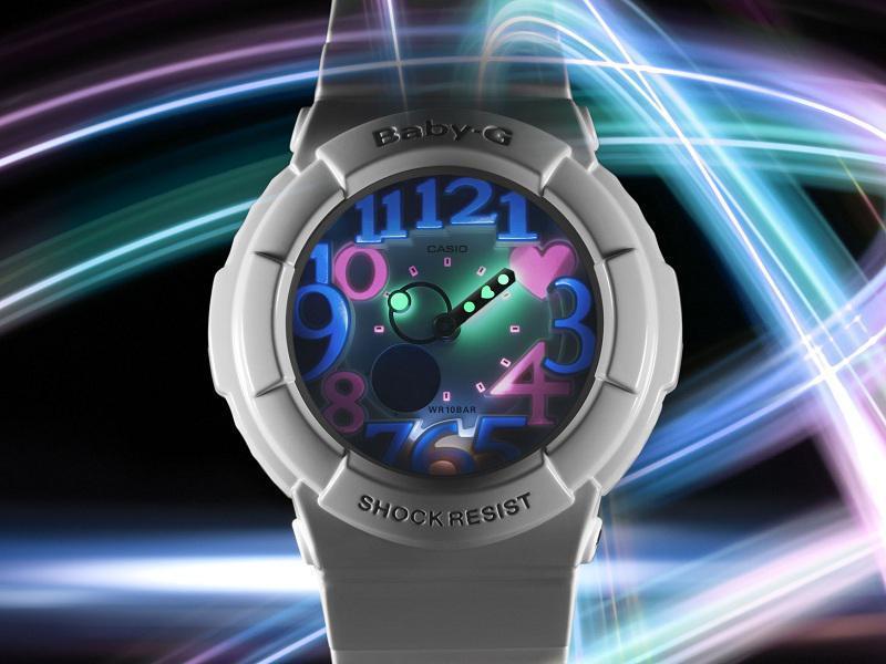 Trójwymiarowe zegarki Baby-G