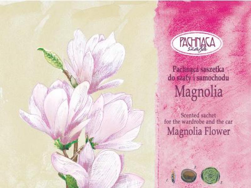 Ubrania o woni magnolii: pachnące saszetki do szafy