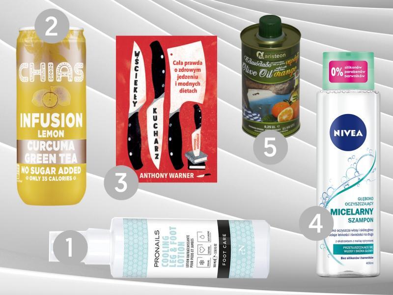 TOP 5 produktów na wrzesień 2018 - wybór redaktor działu Dieta