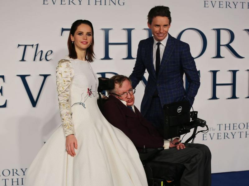 Uroda Życia: film Teoria wszystkiego o Stephenie Hawkingu