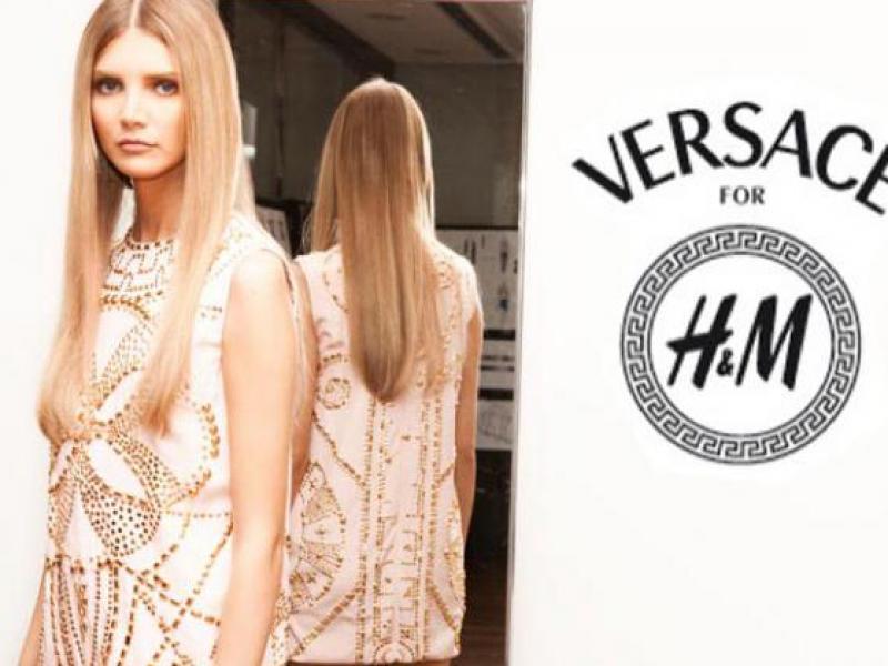 Versace dla H&M -już na jesień 2011