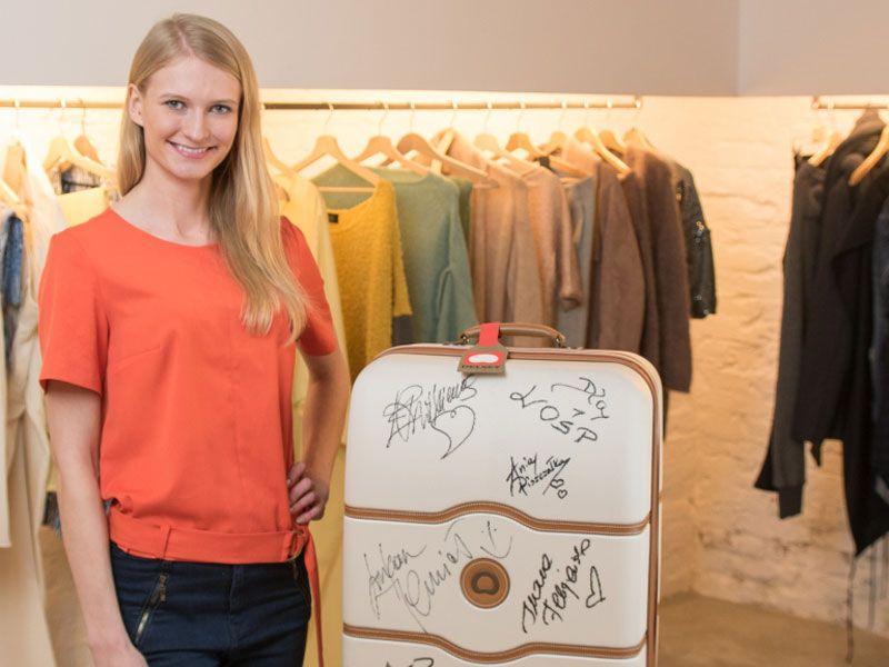 Walizka z autografami gwiazd świata mody na aukcji WOŚP