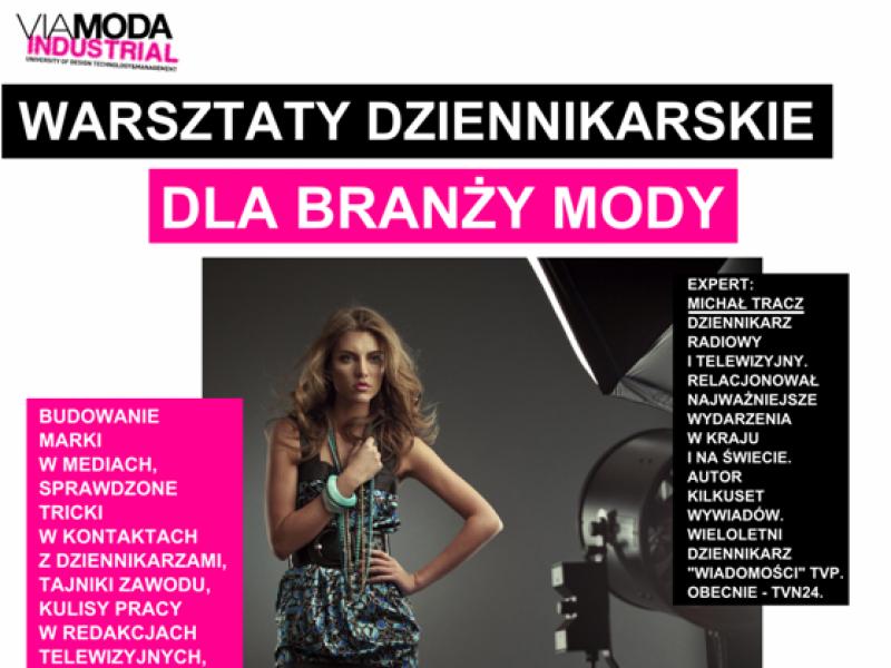 Warsztaty dziennikarskie dla branży mody