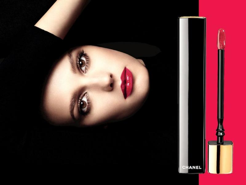 Wibrujące usta z Rouge Allure Gloss od Chanel