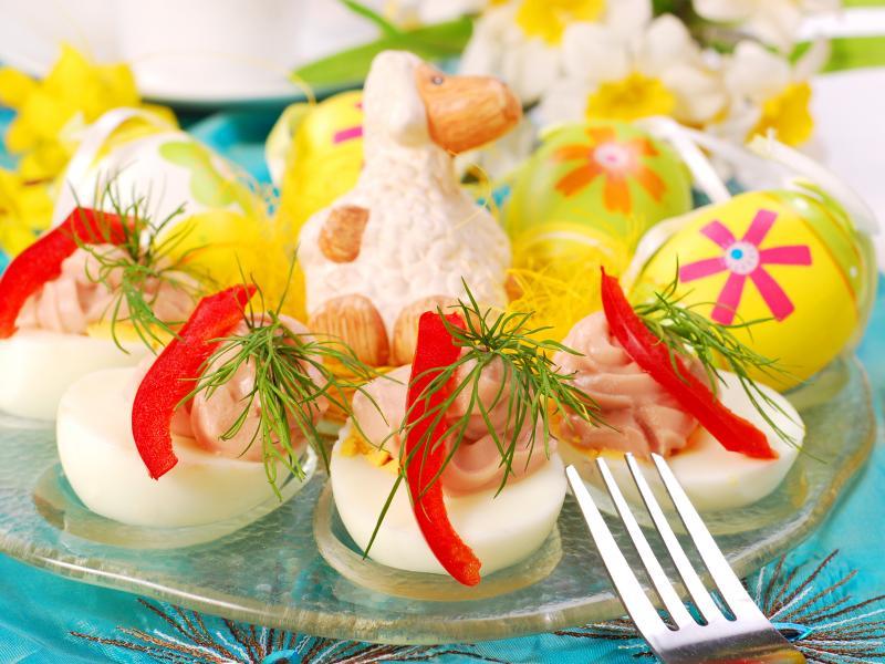 Wielkanocne śniadanie w lekkim stylu