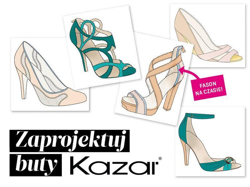 Wielki konkurs: zaprojektuj buty KAZAR!