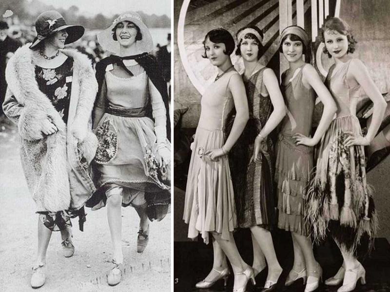 Moda Lat 20 Cechy Charakterystyczne Strój Dla Kobiet I