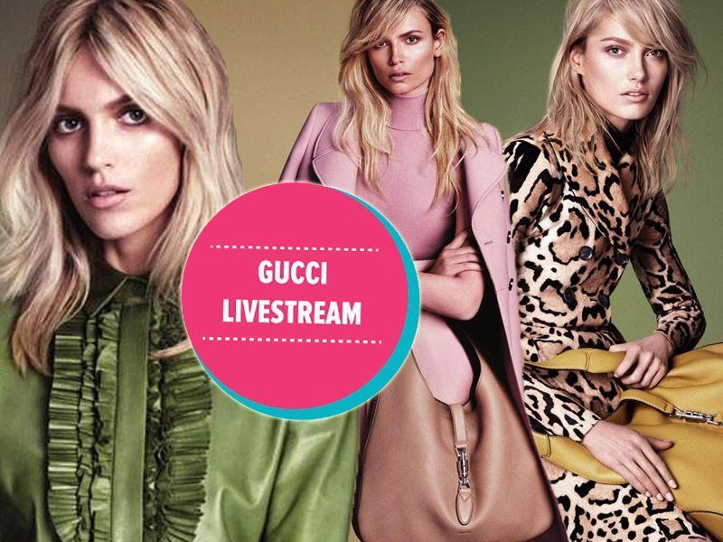 Wiosenno-letni pokaz Gucci wprost z Mediolanu [video]