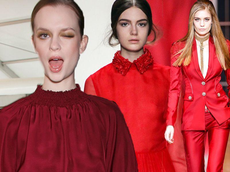 ef877b25 Czerwone ubrania - Trendy sezonu - Porady stylisty - Jak się ubrać ...