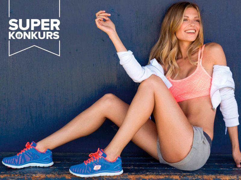WYNIKI KONKURSU: Weź udział w konkursie i zacznij żyć aktywnie w butach Skechers!