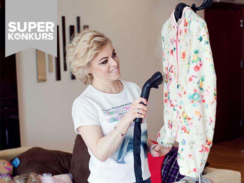 WYNIKI KONKURSU: Zadbaj o swoje ubrania! Wygraj prasowacz parowy marki SteaMaster
