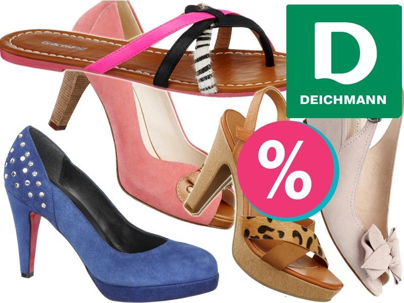 Wyprzedaże, które rozpalają żądze…w sklepach Deichmann