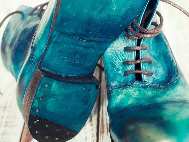 Z polską metką: ręcznie robione buty Pollacki